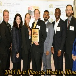 Clarity voted in Top 10 Places to Work in Illinois AGAIN!