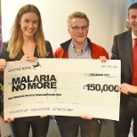 To date, Rentokil Initial has raised £150,000 for Malaria No More.