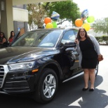 Congratulations to Veronica for earning her company car!