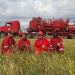Halliburton photo: Cmt crew,Rig-Enafor-5 /Jun 2011