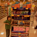 Energizer Endcap I developed with in store contest at FRED MEYER in 2012.