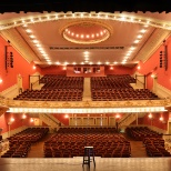 Live performances are regular features at the Historic Paramount Theater, Downtown Rutland Vermont