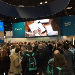Nuance photo: Check us out @ HIMSS 2017! The energy here was incredibly exciting!