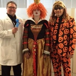Would you follow the lead of this CEO & 2 business unit directors?  We do!  #halloweenfun