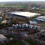 Malmesbury Campus with the Dyson Institute of Engineering and Technology in the foreground