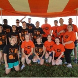 Teradata employees participate in the  Battle of the Businesses competition for Special Olympics.