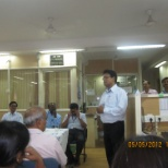 State Bank of India photo: office meeting