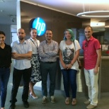 Customer visit at HP Romania, Bucharest center