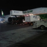 Aircraft Service International Group (ASIG) photo: EVA AIR @ TERMINAL 1 IN JFK AIRPORT