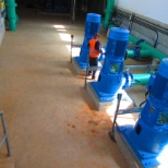 ANDRITZ HYDRO photo: INSTALLATION OF PIPES AND PUMPS