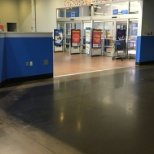 Service desk after I cleaned it during my shift
