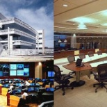 Headquarters, call center , executive conference room