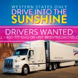 Drive into the sunshine as a company driver for Brent Redmond Transportation!