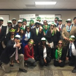 Enterprise Holdings photo: Interns posing with their Enterprise swag!