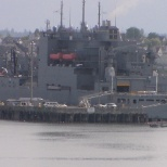 Military Sealift Command photo: Pier side in Porland, Wa