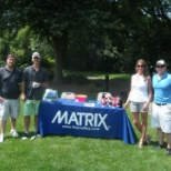 Chicago team had a blast at the Illinois Tech Community Golf Tournament.