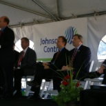 Johnson Controls Ribbon Cutting