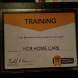 HCR was given a Special Training Award from the Democrat and Chronicle in 2018!
