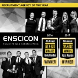 Enscicon Corporation photo: 2016 and 2017 Rocky Mountain Recruitment Agency of the Year
