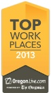 Honored our employees named us the #1 mid-sized company to work for in Oregon!