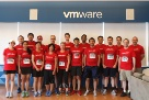 VMware Cambridge employees are ready to take their mark at the JPMorgan Chase Corporate Challenge.