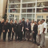 Hyatt photo: My team