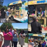 The CCS Companies photo: CCS employees enjoying ice cream on a nice summer day!