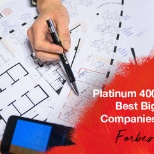 Named by Forbes as Platinum 400 Best Big Companies!