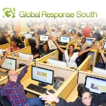 Global Response photo: Call Center Floor