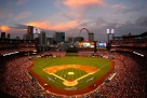 Play ball! Busch Stadium at Sunset!