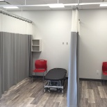 Lifemark Health Group photo: Lifemark clinic - treatment area at Jamieson and Townline location