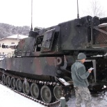 Daily PMCS and training in the snow
