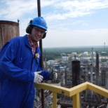Suncor photo: Love working in the refinery