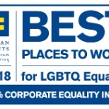 "2018 ""Best Places to Work for LGBTQ Equality"""
