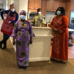 Sunrise of Alexandria, VA, celebrated the many diverse cultures represented on their team!