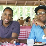 Atlanta associates enjoy their summer company picnic.