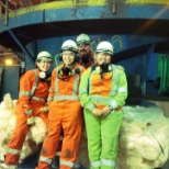 Teck Mining photo: Myself and few of my coworkers.