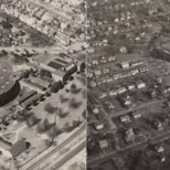 1950 aerial views of ODU when it was the Norfolk Division of the College of William & Mary.