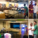 UA Brands photo: Corporate Office Ping Pong Tournament
