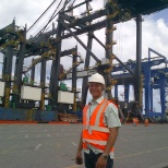 Working as Shift Operations Manager, at DP World Caucedo, Dominican Republic...2004-2012....