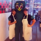 Gumby came by