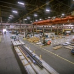 A bird's eye view of Castle Metals distribution center!