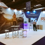 RAC photo: RAC stand at the NEC