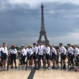 GBT Cyclists bike from London to Paris to raise money for charity