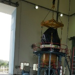 Moduling if a third stage and fourth stage of PSLV launch vehicle.