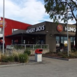 Image of Hungry Jacks located on 420 Warrigal Rd in Heaterton, Melbourne.