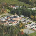Aerial of Hospital and Physician Office Building