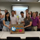 Sweet welcome to interns to Financials 101 seminar in Alpharetta