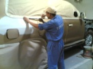 Toyota Qatar for Masking Preparation of Toyota Land cruiser