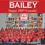 Celebrating Canada's 150 with the whole Plant Staff (Day Shift) and Office Staff together.